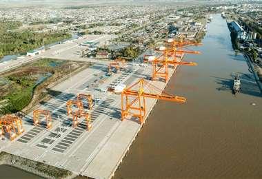 El puerto de La Plata: Foto: Todo Provincial