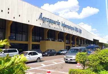 El aeropuerto de Viru Viru concentra el 90% de los vuelos internacionales. Foto: Internet