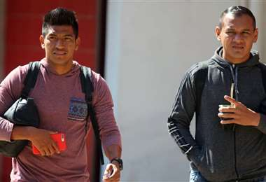 Los jugadores abandonaron el club sin entrenarse. Foto: Álvaro Durán