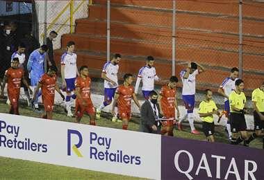 El partido terminó 0-1, a favor de Bahía. Foto: APG
