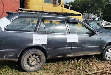 El vehículo del taxista asesinado fue abandonado por San Aurelio
