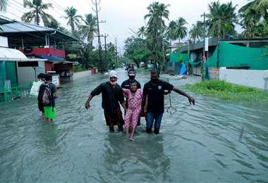 El covid-19 causa estragos en las zonas rurales de India. Foto AFP