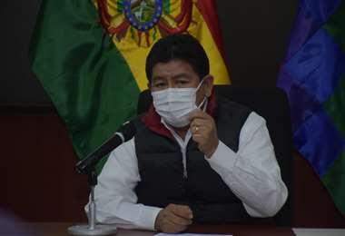 El ministro de Obras Públicas I APG Noticias.