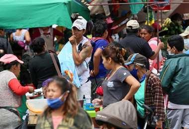 Foto Jorge Ibáñez: este martes los nuevos contagios volvieron a superar los 800 casos