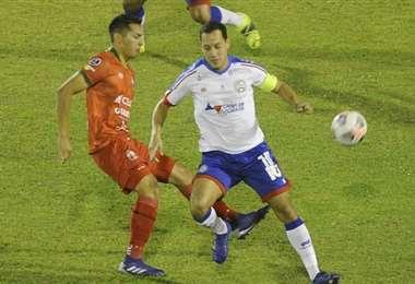 Guabirá volvió a perder y sigue sin sumar puntos en la Sudamericana. Foto: APG Noticias