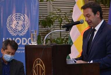El representante de la Unodc brindó su informe sobre destrucción de drogas (Foto: APG)