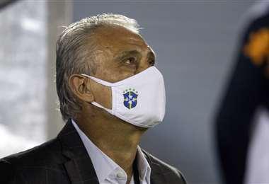 Tite, DT de la selección brasileña. Foto: @CBF_Futebol