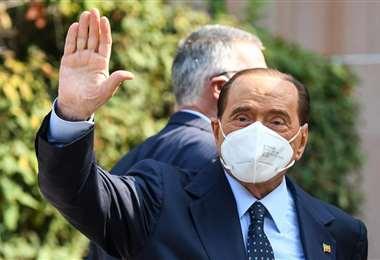 Foto de archivo de Berlusconi