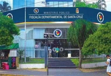 Foto archivo El Deber: la mujer se encuentra aprehendida en la Fiscalía de Santa Cruz