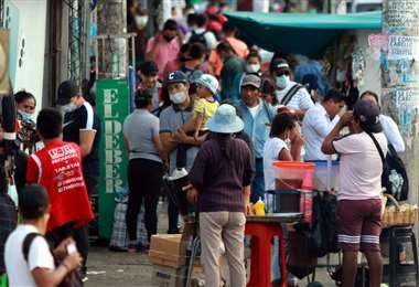 Después de más de cuatro horas, se definió nuevas restricciones/Foto: J. Gutiérrez