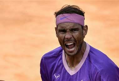Rafael Nadal, tenista español. Foto: AFP