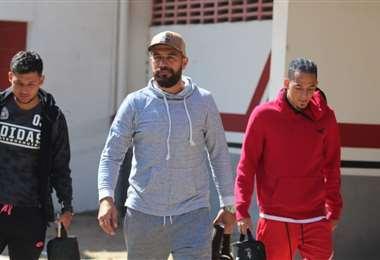 Los jugadores de Real SC decidieron ingresar en paro, el jueves. Foto: Álvaro Durán