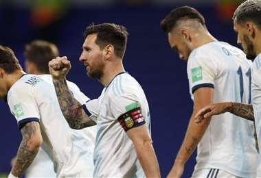 Argentina es segunda en la tabla de posiciones de las eliminatorias. Foto: Internet