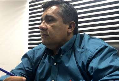 Robert Blanco está envuelto en medio de una polémica. Foto: El Deber