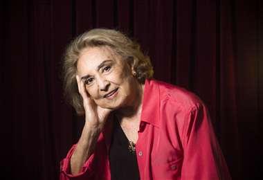 La actriz de 87 años participó en decenas de telenovelas