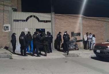 Foto: Operativo en La Paz