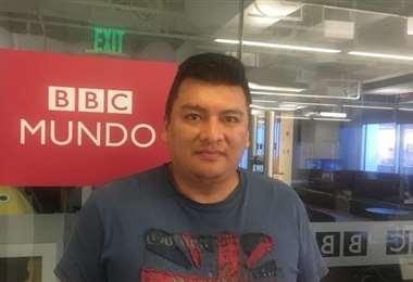 Boris Miranda, destacado periodista I Facebook.