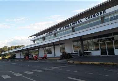 El aeropuerto de Chimoré en 2017. Foto: Iván Paredes