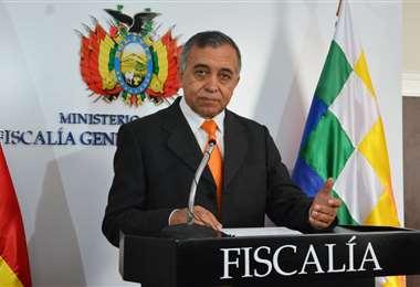 El personero de la Fiscalía I Ministerio Público.
