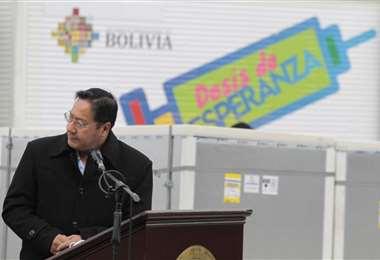 La llegada de las vacunas a El Alto I APG Noticias.