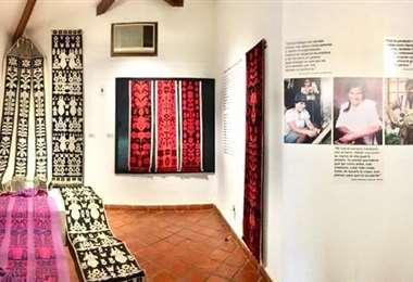 Museo ArteCampo: Producción y técnicas de artesanas del Isoso