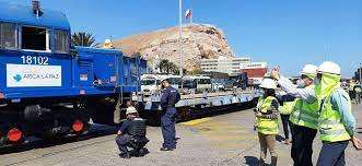 Prueba ferrocarril Arica-La Paz
