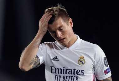 Toni Kroos, mediocampista del Real Madrid. Foto: internet