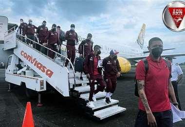 La delegación de Always Ready llegó a Venezuela el lunes. Foto: ARN