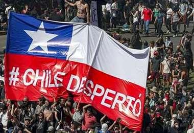 En Chile buscan financiar una renta básica de emergencia sanitaria. Foto. Internet