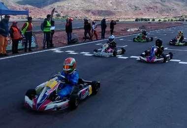 El campeonato 2021 de karting contempla seis fechas. Foto: Internet