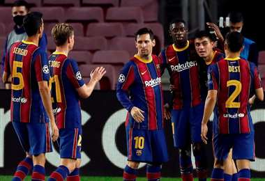 La incertidumbre es si Messi seguirá en el Barcelona después de junio. Foto: AFP