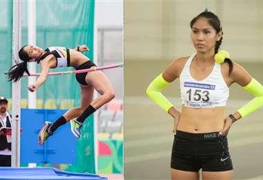 Ríos tiene 23 años y es campeona en salto alto
