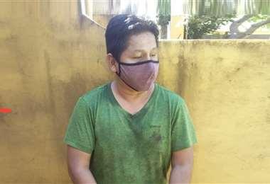 Ramírez fue aprehendido por efectivos policiales