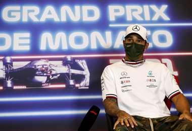 Lewis Hamilton es el líder del campeonato de Fórmula Uno. Foto: AFP