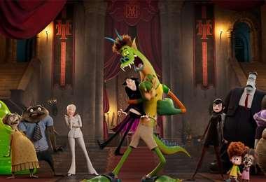 Escena de la nueva película de Hotel Transylvania