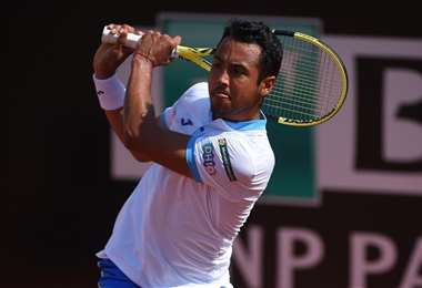 Hugo Dellien viene mostrando un buen tenis en Portugal. Foto: Internet