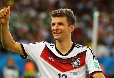 Thomas Müller, de 31 años, es delantero del Bayern de Múnich. Foto: Internet