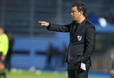 La interrogante es a quién podrá Gallardo este miércoles de arquero?. Foto: internet