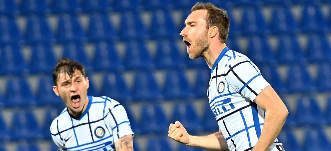 El Inter se impuso (0-2) de visitante al Crotone, el sábado. Foto: AFP
