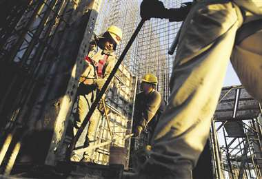 La mano de obra en la construcción es el sector más golpeado. Foto: Ricardo Montero