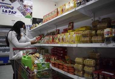 Emapa ofrece alimentos a menor precio