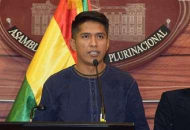 Foto referencial. Andrónico Rodríguez, presidente del Senado