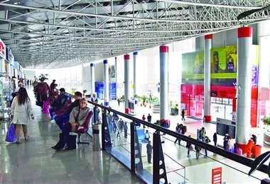 El aeropuerto de El Alto también está afectado por