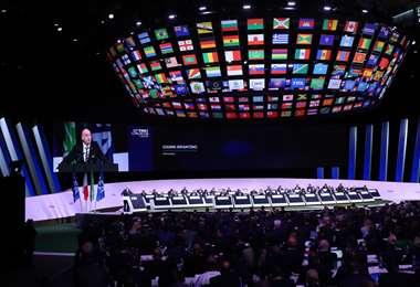 El congreso de la FIFA será por videoconferencia. Foto: Internet