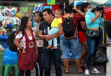 Foto Jorge Gutiérrez: Santa Cruz otra vez superó los 900 casos positivos en un día.