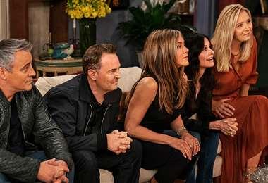 Los protagonistas de la serie en una escena del especial de HBOMax