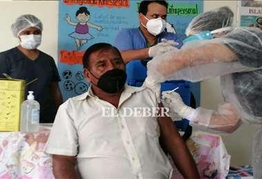 En Santa Cruz hay otros 29 espacios para que la población acuda a inmunizarse