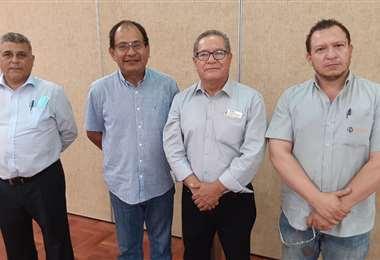 Los nuevos representantes de la institución