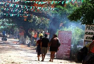 La pandemia golpea en las cabañas del Piraí (Foto: Ricardo Montero)