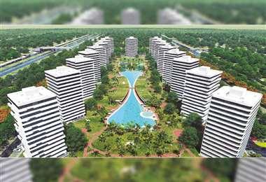 El proyecto está asentado en 6.000 hectáreas
